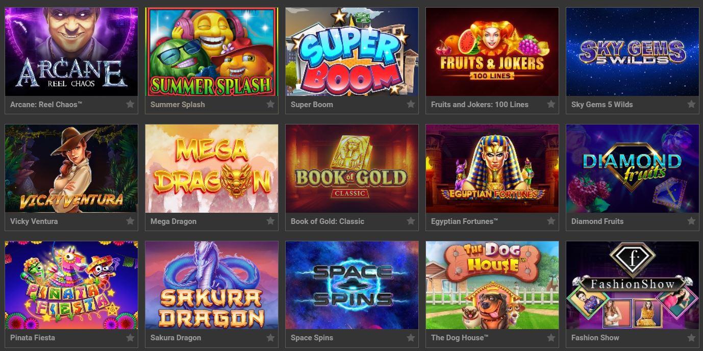 Le migliori slot machines online