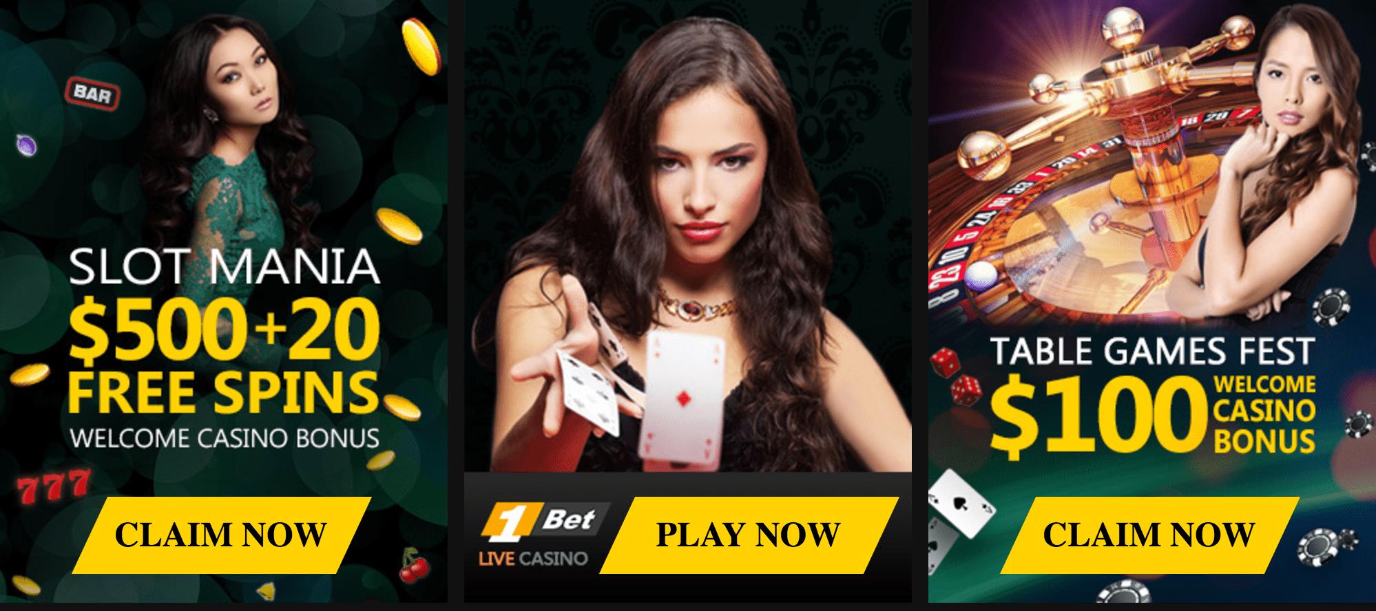 Promozioni e bonus 1Bet Casino