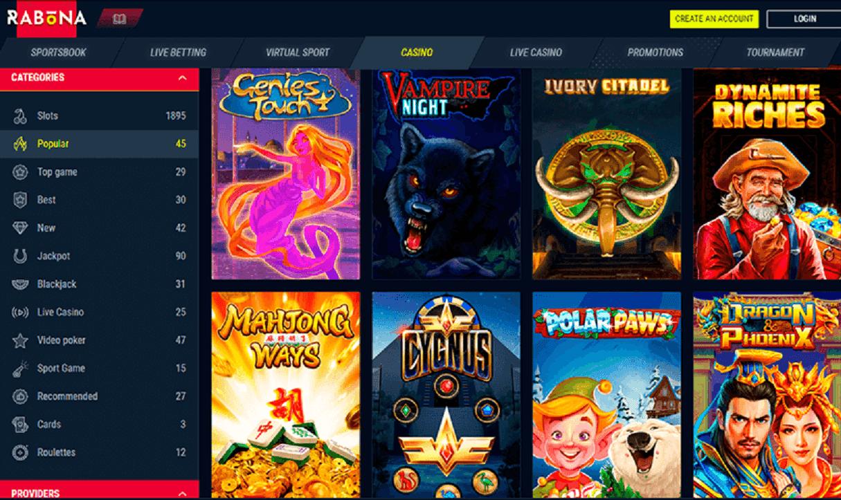 Rabona Slot Machine: ottieni Giri Gratis da utilizzare subito