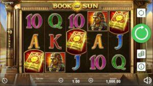 simboli Book of Sun slot machine