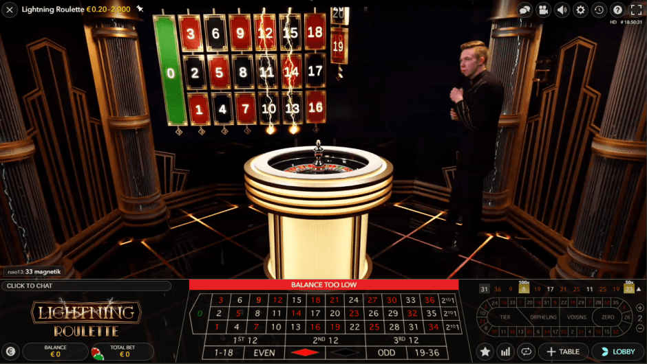 Lightning Roulette: dove giocare gratis online