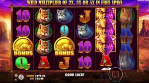 simboli Buffalo King slot machine