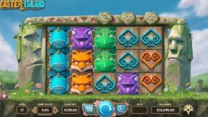 simboli Easter Island slot machine
