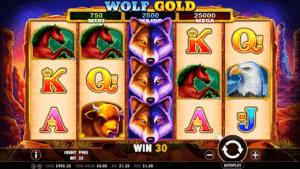 simboli Wolf Gold Slot